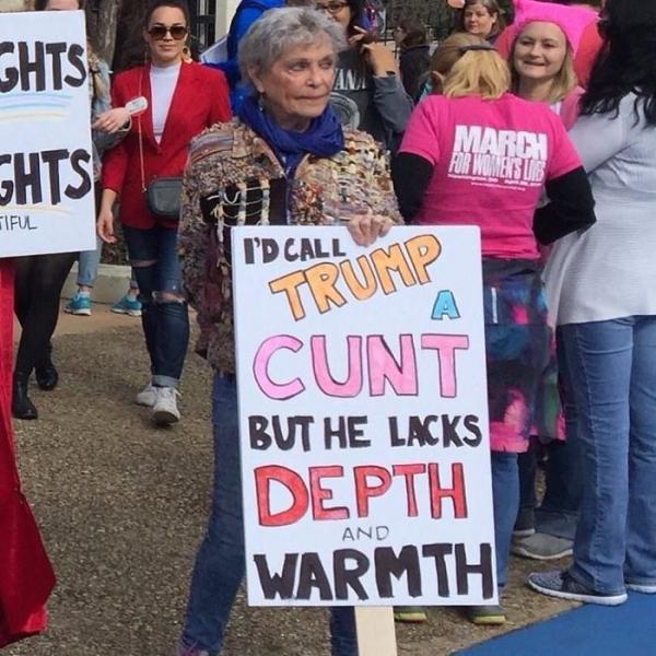 「哈利波特沒有妙麗,第一集就死了!」美國女權大遊行的爆笑標語!_(1).jpg
