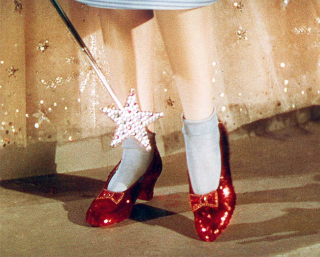 "Original-Ruby-Slippers-from-""The-Wizard-of-Oz"""