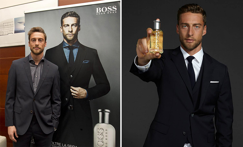 Claudio Marchisio per Hugo Boss
