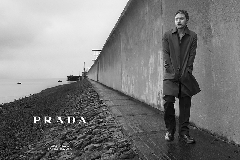 James McAvoy PRADA 2014FW
