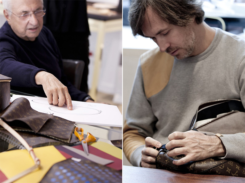 louis vuitton marc newson Frank Gehry