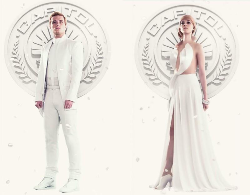 Peeta Mellark & Johanna Mason《飢餓遊戲3:自由幻夢1》未來風時尚造型