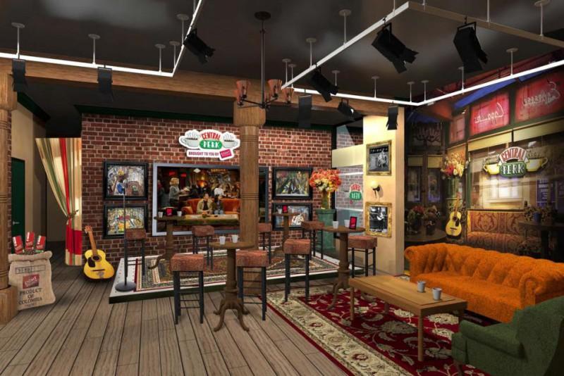 《六人行》劇中主角們相聚的Central Perk咖啡館,如今也確定將搬到現實生活中與影迷們見面。