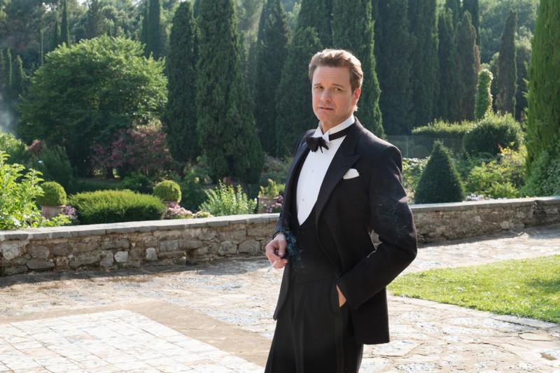 柯林佛斯在《魔幻月光》中完美展現與生俱來的英倫紳士氣質。