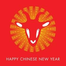 新年快樂!流行產業喜氣羊羊齊賀中國年