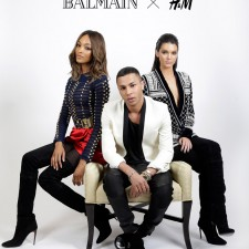 H&M x BALMAIN確定攜手合作!搖滾時尚聯名系列11月5日開賣